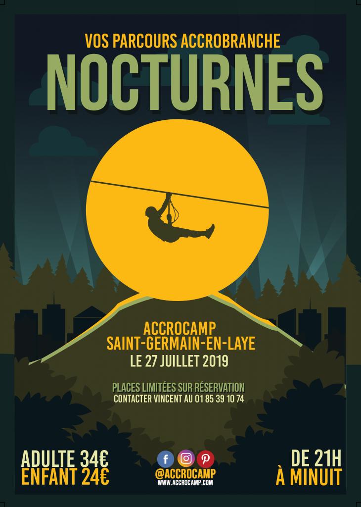 Idée Sortie à Paris | Essayez Nos Parcours Accrobranche Nocturnes !