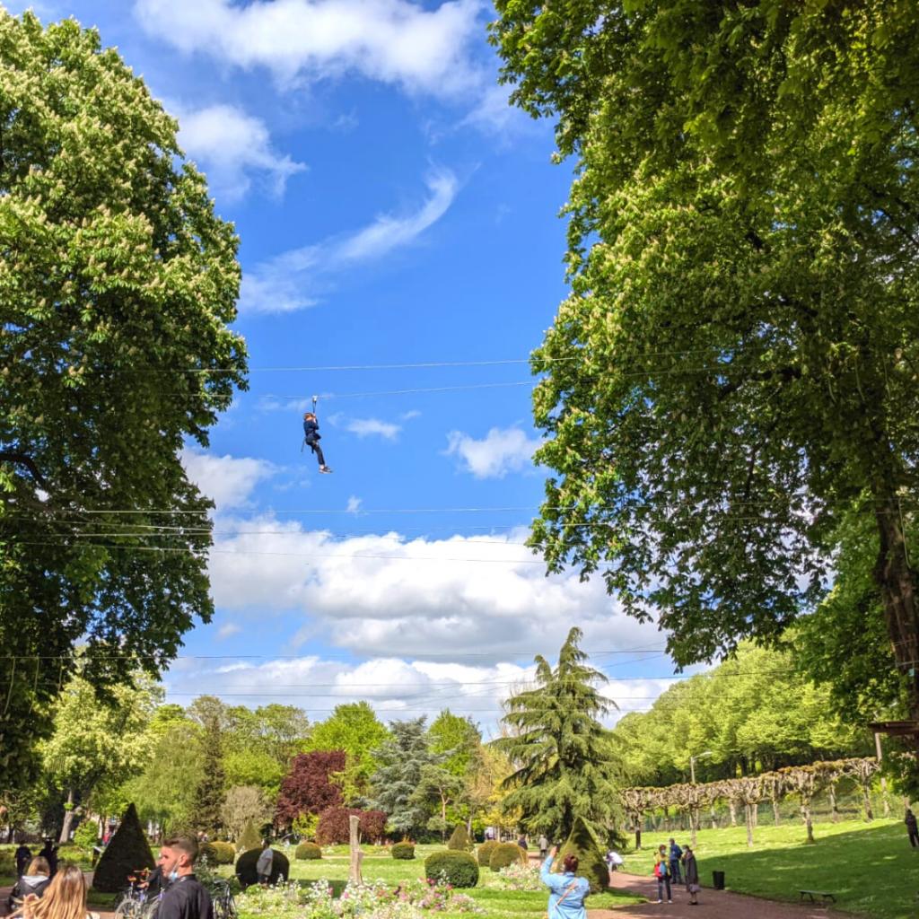 Parc Accrobranche Chartres dans le parc André Gagnon